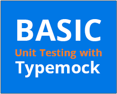 Basic Unit Testing with Typemock