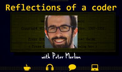 Coder, Programmer, Peter Morlion