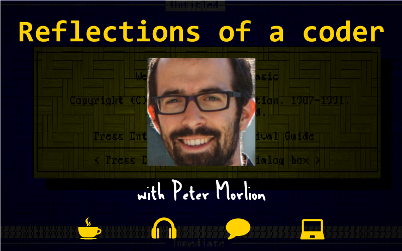 Coder, Programmer, Peter Morlion